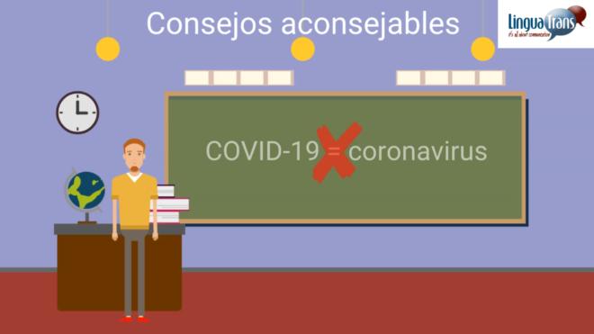"""Cómo usar correctamente """"COVID-19"""""""